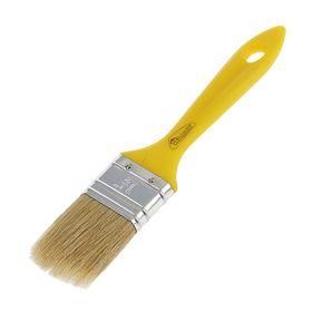 Кисть плоская Hobbi Стандарт пласт, 38 мм, ручка пластик, смешанная щетина