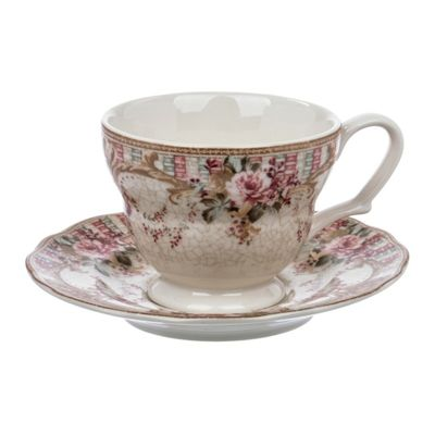 Чашка с блюдцем «Абингтон Роуз», 200 мл - Фото 1