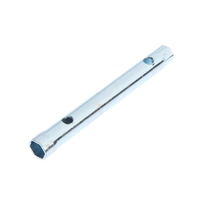 Ключ торцевой трубчатый TUNDRA, оцинкованный, 8 х 10 мм