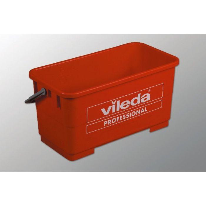 Ведро для мытья окон Vileda, 22 л, цвет красный