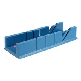 Стусло Hobbi, пластмассовое, 300х65х40 мм, 45, 90, 135° Ош