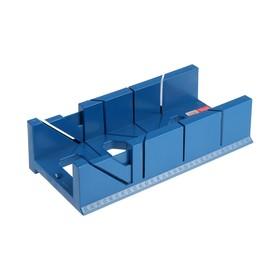 Стусло Hobbi, пластмассовое, 300х110х60 мм, 45, 90, 135° Ош