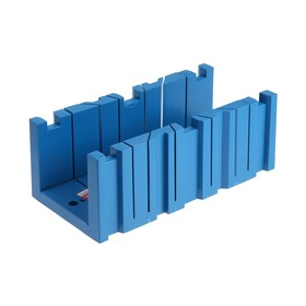 Стусло Hobbi пластмассовое, 350x120х110 мм, 45, 90, 135°, многофункциональное Ош