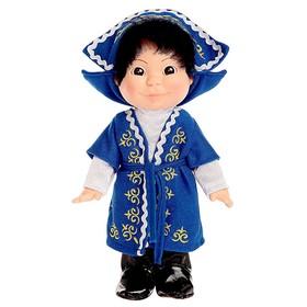 Кукла «Веснушка», в казахском костюме, мальчик, 26 см