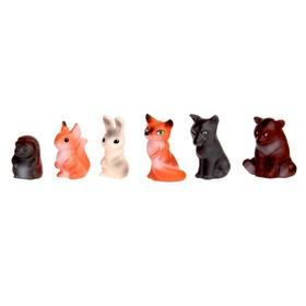 Набор резиновых игрушек «Животные леса»