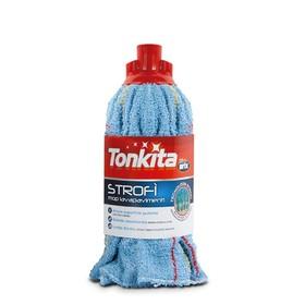 Швабра для пола Tonkita «Строфикапа», текстиль, без трости