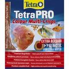 Корм TetraPro Colour для рыб, чипсы, 12 г, пакет