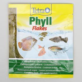 Корм TetraPhyll для рыб, растительные хлопья, 12 г