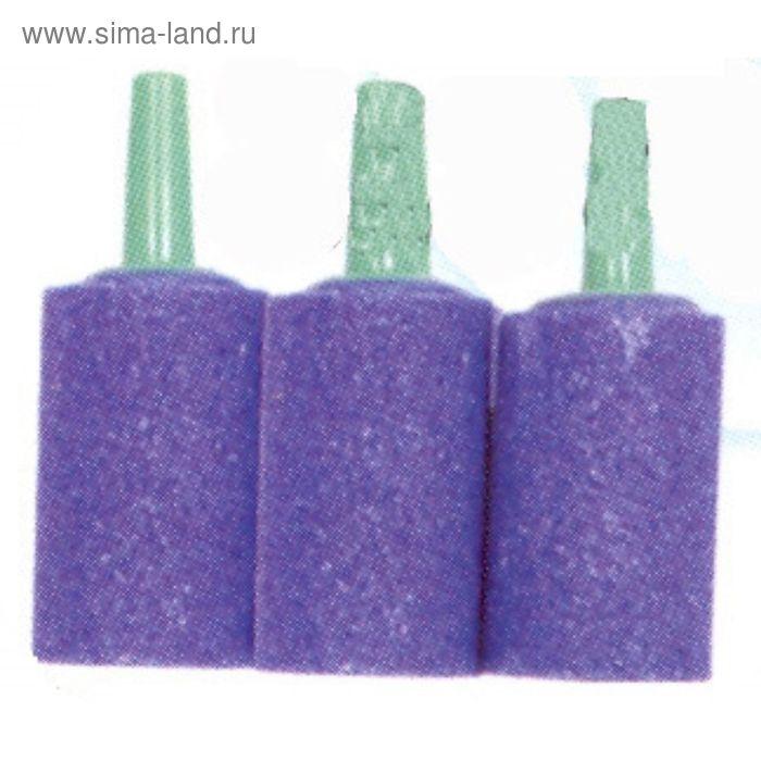 Распылитель камень-цилиндр синий (3шт)