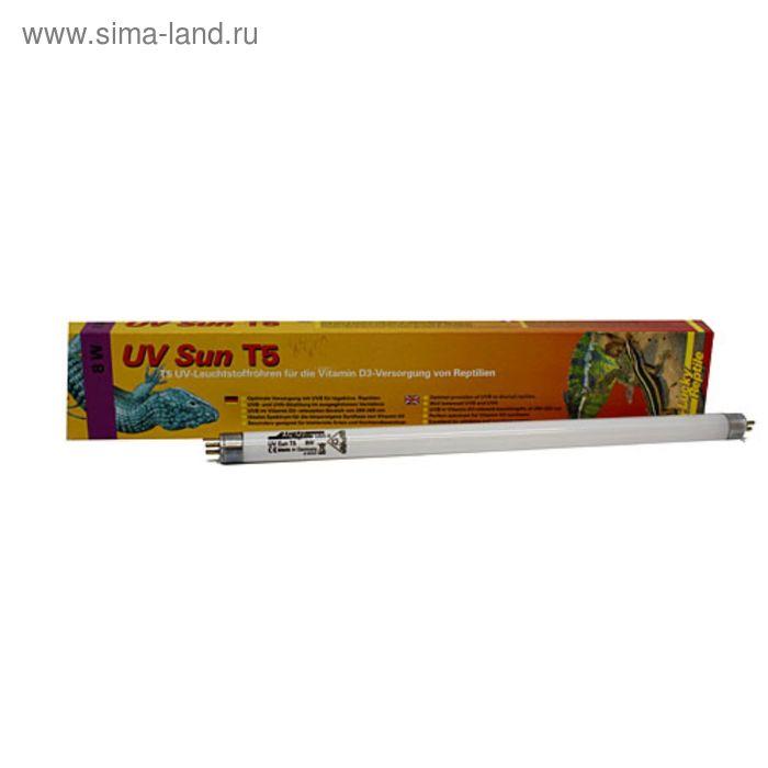 Лампа люминисцентная UV Sun T5, УФ 6%, 54 Ватт, 1149 мм