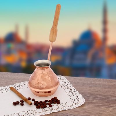 Кофеварка медная «Сказка Востока», 300 мл - Фото 1