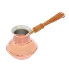 Кофеварка медная TimA «Славяночка», 500 мл, съёмная ручка - Фото 4