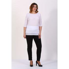 Блузка женская, размер 50, цвет белый