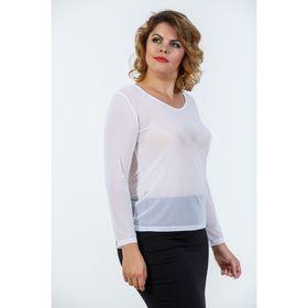 Джемпер женский, размер 42, цвет белый