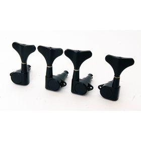 Комплект колковой механики для бас-гитары Caraya MB-1001-BK  2+2