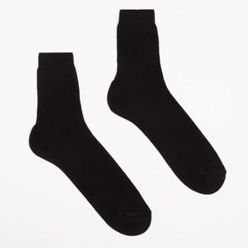 Носки мужские, размер 27, цвет чёрный Ош