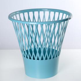 Ведро для мусора, круглое 12 л, цвет МИКС Ош