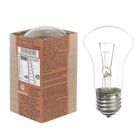 Лампа накаливания М50, 60 Вт, E27, 230 В, КЭЛЗ Ош
