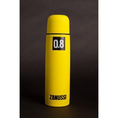 Термос желтый 0,8 л - Фото 1