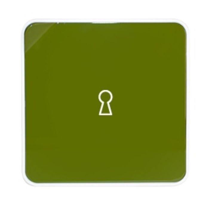 Ящик для ключей Byline, цвет зеленый