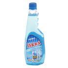 Средство для мытья стеклянных поверхностей ISKRA, с нашатырным спиртом, 500 г