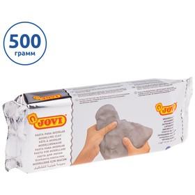 Масса для лепки самозатвердевающая полимерная серая 500 г, JOVI Ош