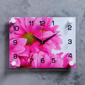 Часы настенные, серия: Цветы, 'Цветок', 20х26  см, микс Ош