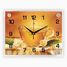 "Часы настенные, серия: Кухня, ""Чай"", 20х26 см  микс"