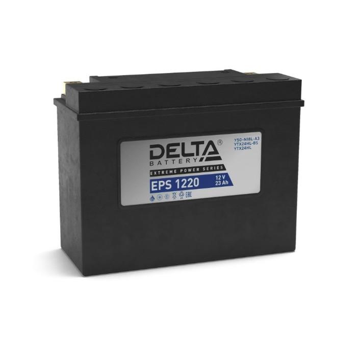 Аккумуляторная батарея Delta EPS 1220(YTX24HL-BS, YTX24HL)12V, 20 Ач обратная(- +)