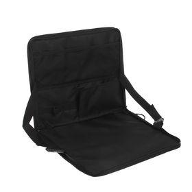Столик мобильный 35х30 см, черный Ош