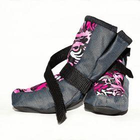 Ботинки утепленные OSSO, внутренний размер по лапе 1 (5 х 6 х 10 см), микс Ош