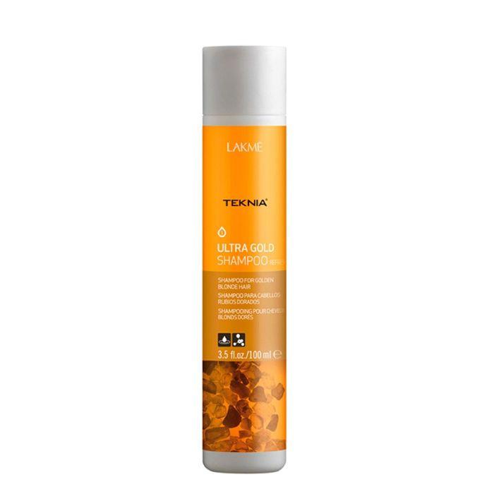 Шампунь, освежающий цвет для золотистых оттенков волос Lakme Teknia Ultra Gold Refresh, 100 мл