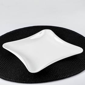 Тарелка десертная Diva, 19,5×19,5 см