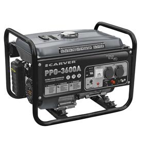 Генератор CARVER PPG- 3600А, бензиновый, 2.5/2.8 кВт, 220 В, бак 15 л, ручной старт Ош