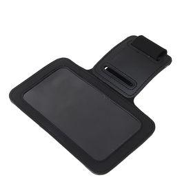 Чехол для сотового телефона на руку LuazON, 14*7,5 см, выход для наушников, черный