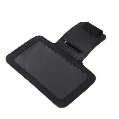 Чехол для сотового телефона на руку LuazON, 14x7.5 см, выход для наушников, черный - Фото 1