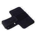 Чехол для сотового телефона на руку LuazON, 14x7.5 см, выход для наушников, черный - Фото 2