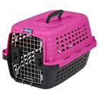 """Переноска для домашних животных Petmate """"Компасс Фэшн 24"""", фиолетовая, пластик, 61x42x36см"""