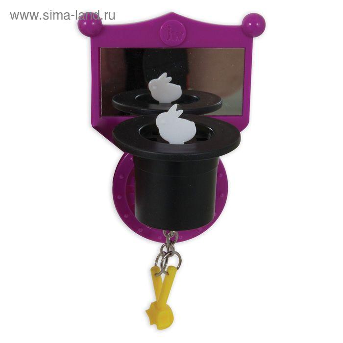 Игрушка для птиц J.W. - Зеркальце с магической шляпой, пластик, микс