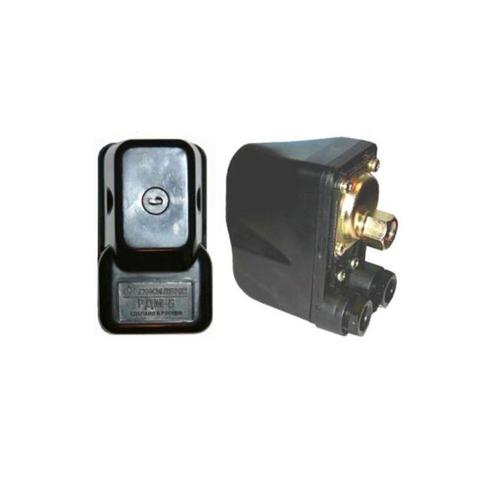 Реле давления Джилекс PДM 5, 2-х полюсное, рабочий диапазон 1,4 - 4,6 атм