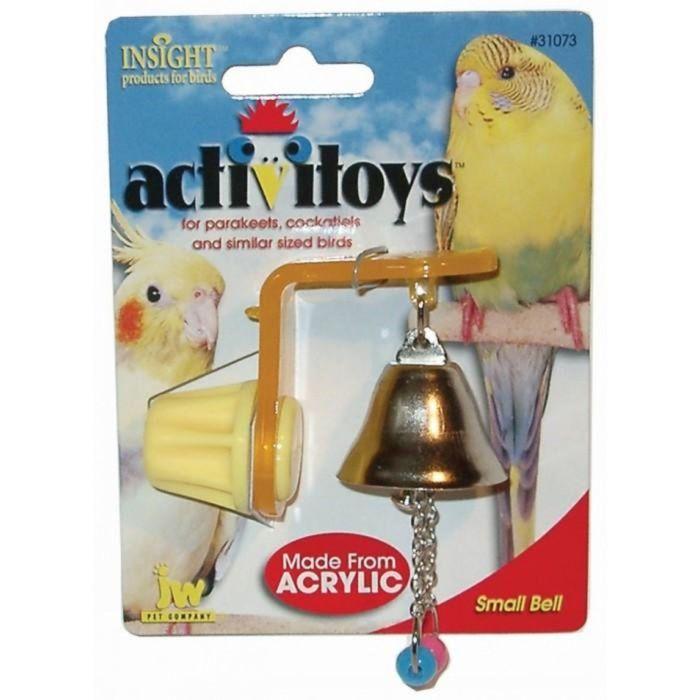 Игрушка для птиц J.W. - Колокольчик, микс