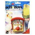 Игрушка для птиц J.W.- Птичий боулинг, пластик, микс