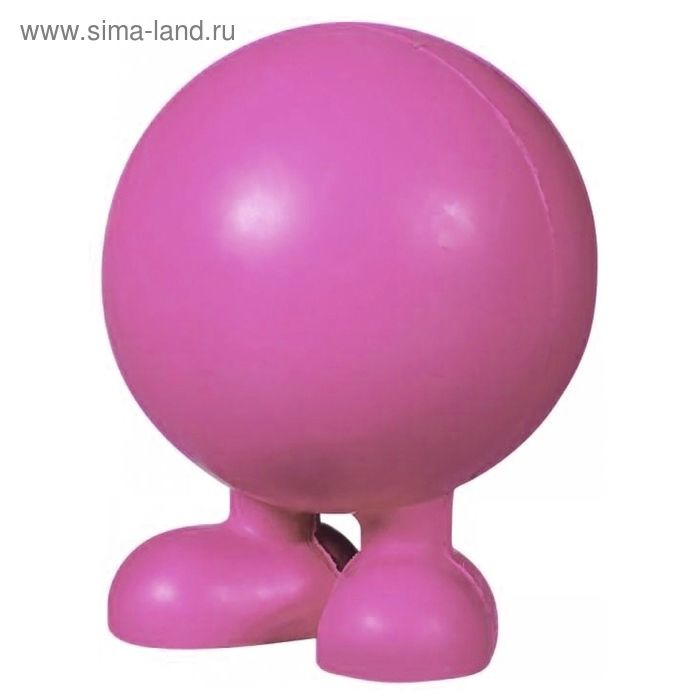 Игрушка для собак J.W. - Мяч на ножках, каучук, маленькая, микс