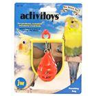 Игрушка для птиц J.W. - Боксерская груша с зеркальцем, пластик, микс