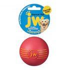 Игрушка для собак J.W. - Мяч с пищалкой, каучук, маленькая, микс