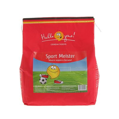 Семена газонной травы Sport Meister Gras, 1  кг - Фото 1