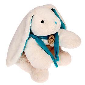 Мягкая игрушка «Кролик», цвет белый/бирюзовый, 45 см