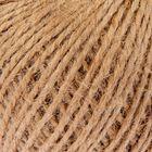 Шпагат джутовый, скрученный d=1,5 мм, 60 м, цвет натуральный - Фото 2