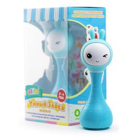 Музыкальная игрушка зайка alilo R1, синий