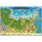 Карта России для детей «Карта Нашей Родины», 59 х 42 см